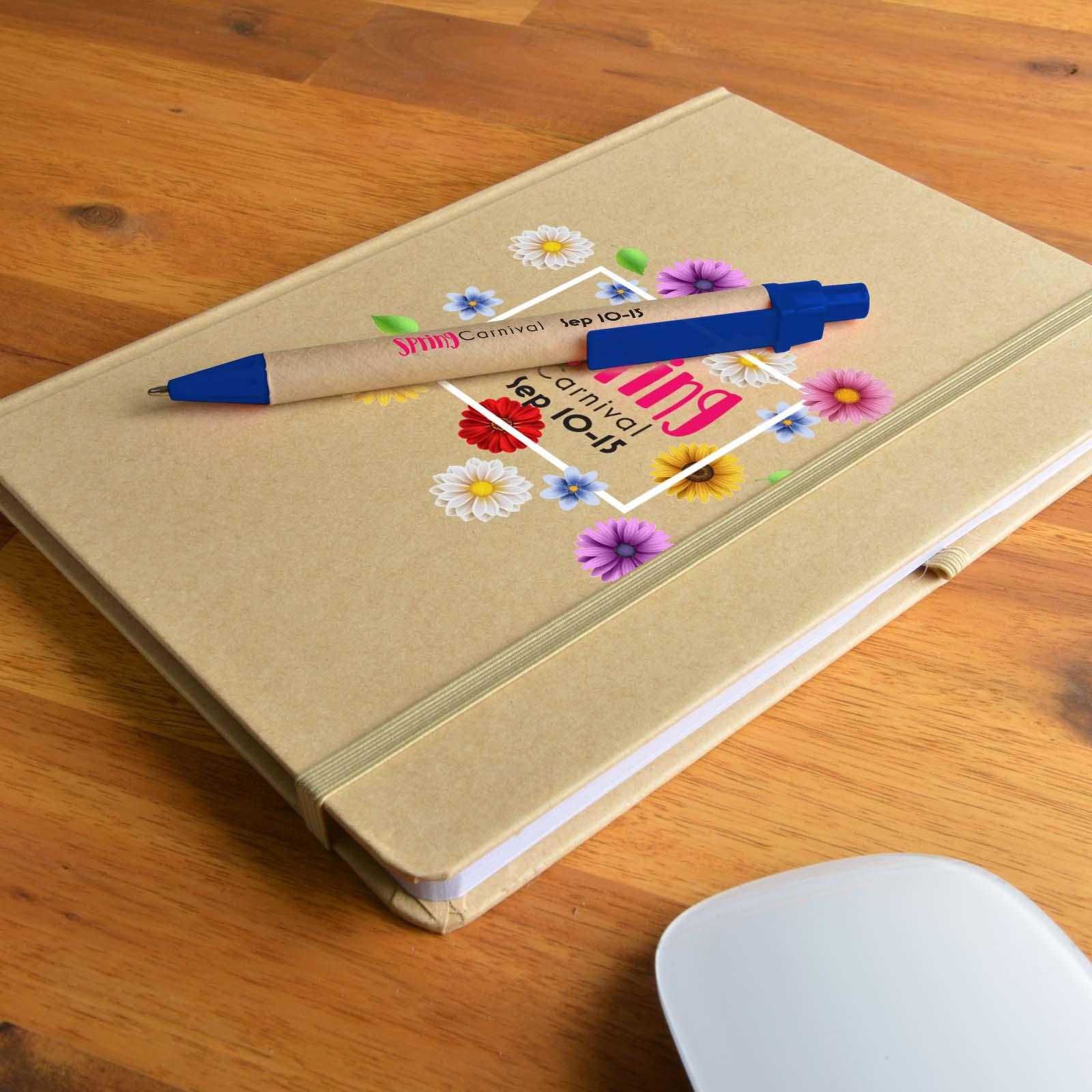 Venture A5 Natural Notebook / Matador Pen