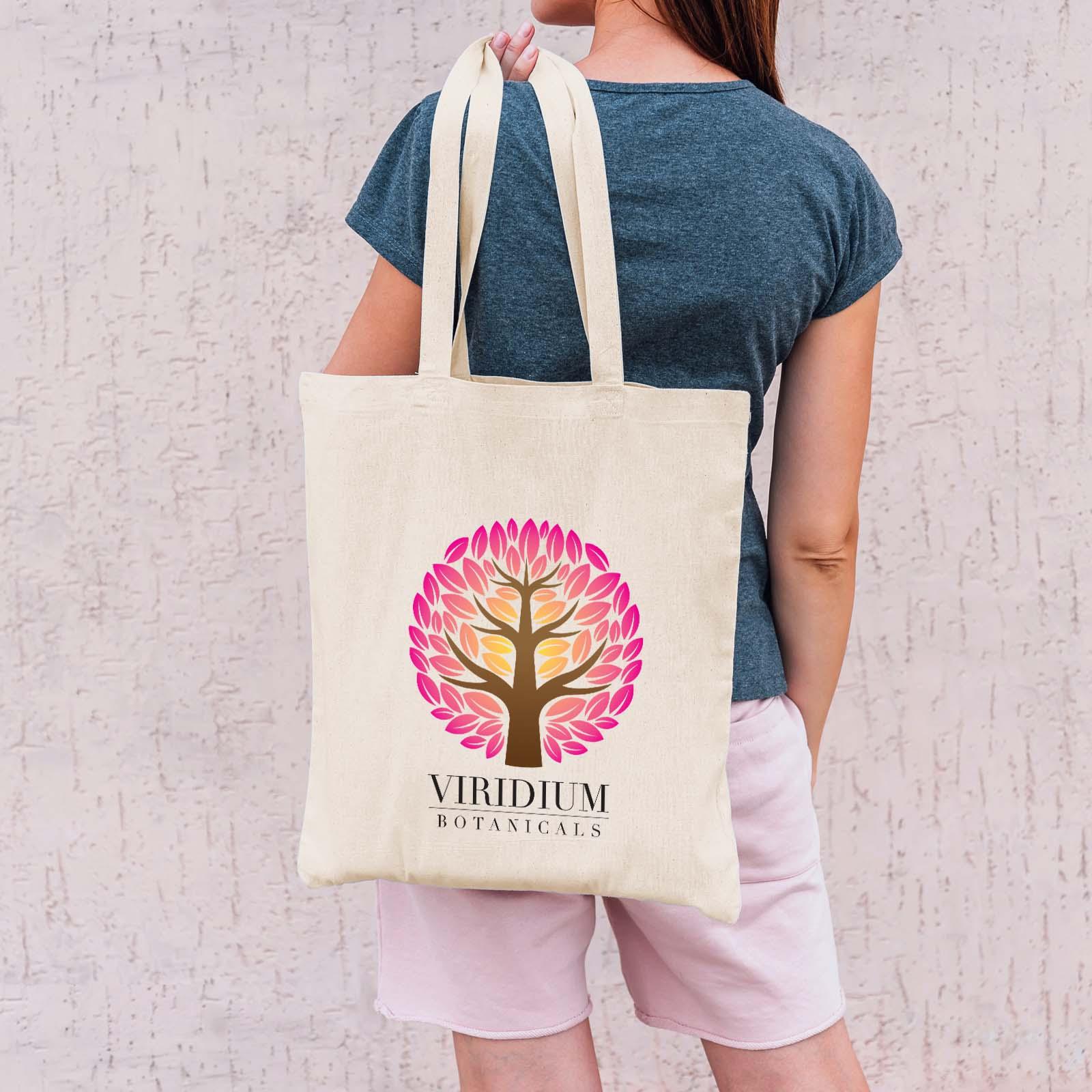 Urban Shopper Folding Calico Bag (LH)