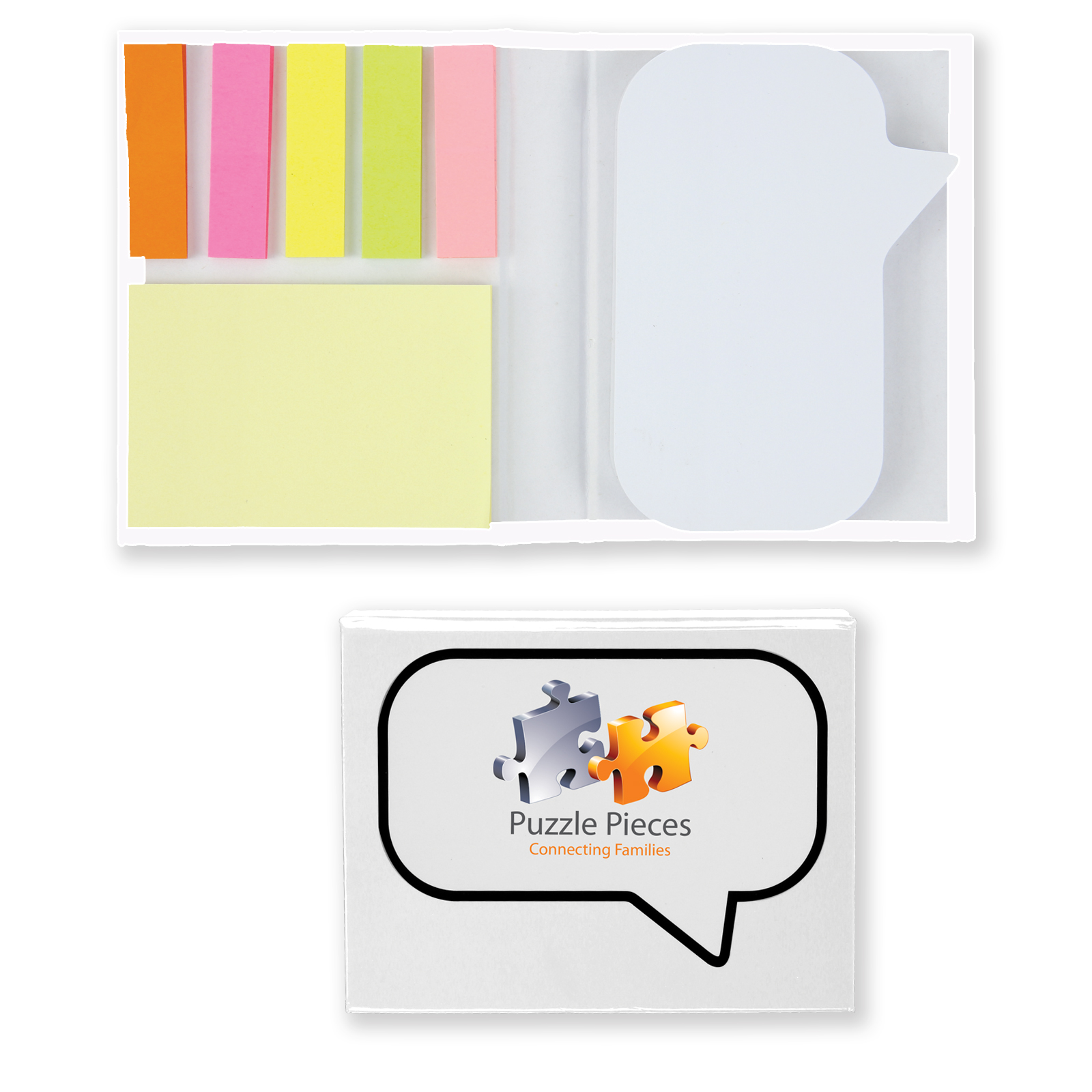 Speech Bubble Sticky Notes