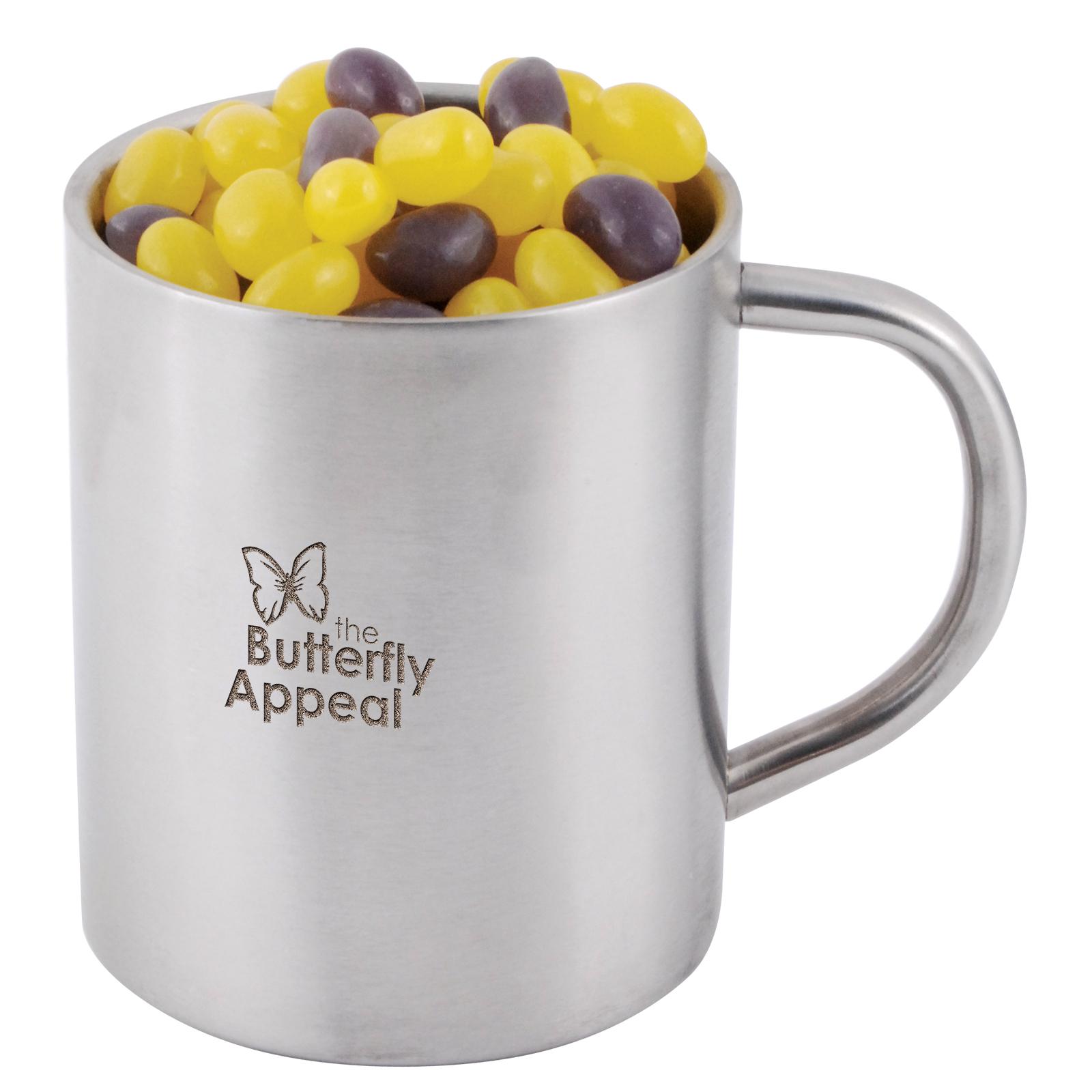 Corporate Colour Mini Jelly Beans in Java Mug